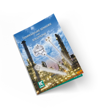 Brochure temperatuursensoren Istec International