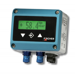 Verschildruk-transmitter DE45 met LCD van Fischer