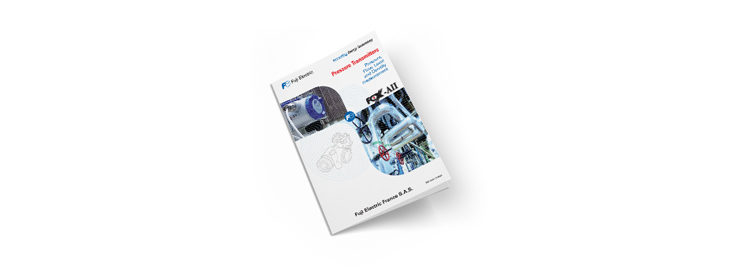 Brochure druktransmitters van Fuji Electric