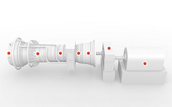 Gasturbine 3D