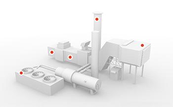 Land based gas turbine