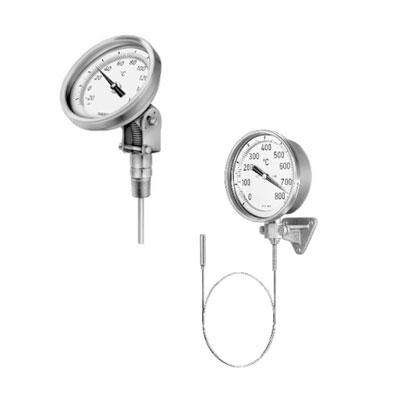 Mechanische temperatuurmeters